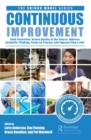 Image for Continuous improvement  : seek perfection, assure quality at its source, embrace scientific thinking, focus on process, and improve flow & pull