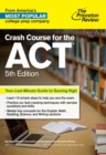 Image for Crash course for the ACT