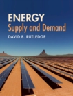 Image for Energy  : supply and demand
