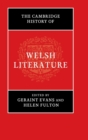Image for The Cambridge history of Welsh literature