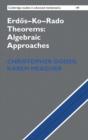 Image for Erdèos-Ko-Rado theorems  : algebraic approaches
