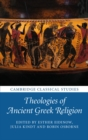 Image for Theologies of ancient Greek religion
