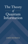 Image for The theory of quantum information