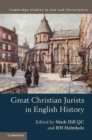 Image for Great Christian jurists in English history