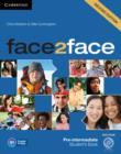 Image for Face2facePre-intermediate,: Student's book