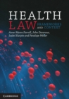 Image for Health law  : frameworks and context