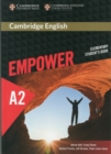 Image for Cambridge English empowerElementary,: Student's book