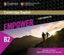 Image for Cambridge English empowerUpper intermediate,: Class audio CDs