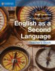 Image for IGCSE English as a second language: Teacher's book