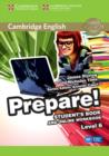 Image for Cambridge English prepare!Level 6: Student's book and online workbook