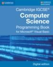 Image for Cambridge IGCSE computer science programming book: for Microsoft Visual Basic