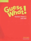 Image for Guess What! Level 1 Teacher's Book with DVD British English