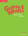 Image for Guess What! Level 3 Teacher's Book with DVD British English