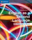 Image for Introduction to English as a second language: Teacher's book