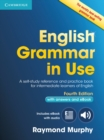 Image for English grammar in use with answers