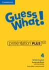 Image for Guess What! Level 4 Presentation Plus British English