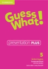 Image for Guess What! Level 5 Presentation Plus British English