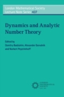 Image for Dynamics and analytic number theory