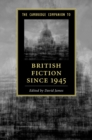 Image for The Cambridge companion to British fiction since 1945
