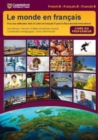 Image for Le monde en francais Teacher's Book