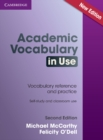 Image for Academic vocabulary in use
