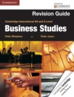 Image for Cambridge international AS and A Level business studies: Revision guide