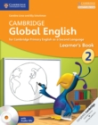 Image for Cambridge global EnglishStage 2,: Learner's book : Cambridge Global English Stage 2 Learner's Book with Audio CDs (2)