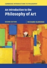 Image for An introduction to the philosophy of art