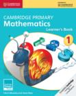 Image for Cambridge primary mathematicsStage 1,: Learner's book : Cambridge Primary Mathematics Stage 1 Learner's Book