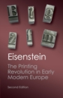 Image for The printing revolution in early modern Europe
