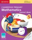 Image for Cambridge primary mathematicsStage 5,: Learner's book : Cambridge Primary Mathematics Stage 5 Learner's Book
