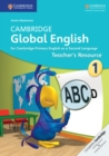 Image for Cambridge global EnglishStage 1,: Teacher's resource : Cambridge Global English Stage 1 Teacher's Resource