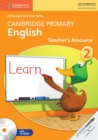 Image for Cambridge Primary English : Cambridge Primary English Stage 2 Teacher's Resource Book with CD-ROM