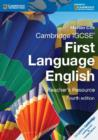 Image for Cambridge IGCSE first language English: Teacher's resource