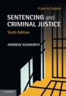 Image for Sentencing and criminal justice