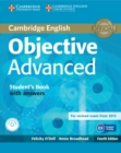 Image for Objective Advanced Student's Book with Answers with CD-ROM