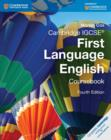 Image for Cambridge International IGCSE : Cambridge IGCSE (R) First Language English Coursebook
