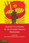 Image for Constitutions in authoritarian regimes