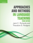 Image for Approaches and methods in language teaching