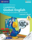 Image for Cambridge Global English : Cambridge Global English Stage 1 Learner's Book with Audio CDs (2)
