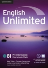 Image for English Unlimited Pre-intermediate Coursebook with e-Portfolio and Online Workbook Pack