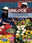 Image for Unlock  : listening and speaking skillsLevel 3,: Student's book and online workbook