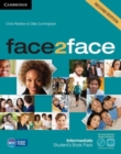 Image for face2face Intermediate Student's Book with DVD-ROM and Online Workbook Pack