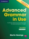 Image for Advanced grammar in use  : a self-study reference and practice book for advanced learners of English, with answers