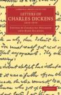 Image for Letters of Charles Dickens : 1833-1870