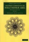 Image for Oeuvres completes de Niels Henrik Abel 2 Volume Set : Nouvelle edition