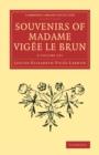 Image for Souvenirs of Madame Vigâee Le Brun