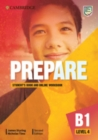 Image for Cambridge English prepare!Level 4,: Student's book and online workbook