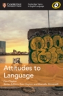 Image for Attitudes to language : Attitudes to Language