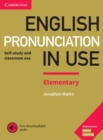 Image for English pronunciation in useElementary book with answers